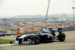 29.10.2011, Jaypee-Circuit, Noida, IND, F1, Grosser Preis von Indien, Noida, im BildRubens Barrichello (BRA),  Williams F1 Team // during the Formula One Championships 2011 Large price of India held at the Jaypee-Circui 2011-10-29  EXPA Pictures © 2011, PhotoCredit: EXPA/ nph/  Dieter Mathis       ****** out of GER / CRO  / BEL ******