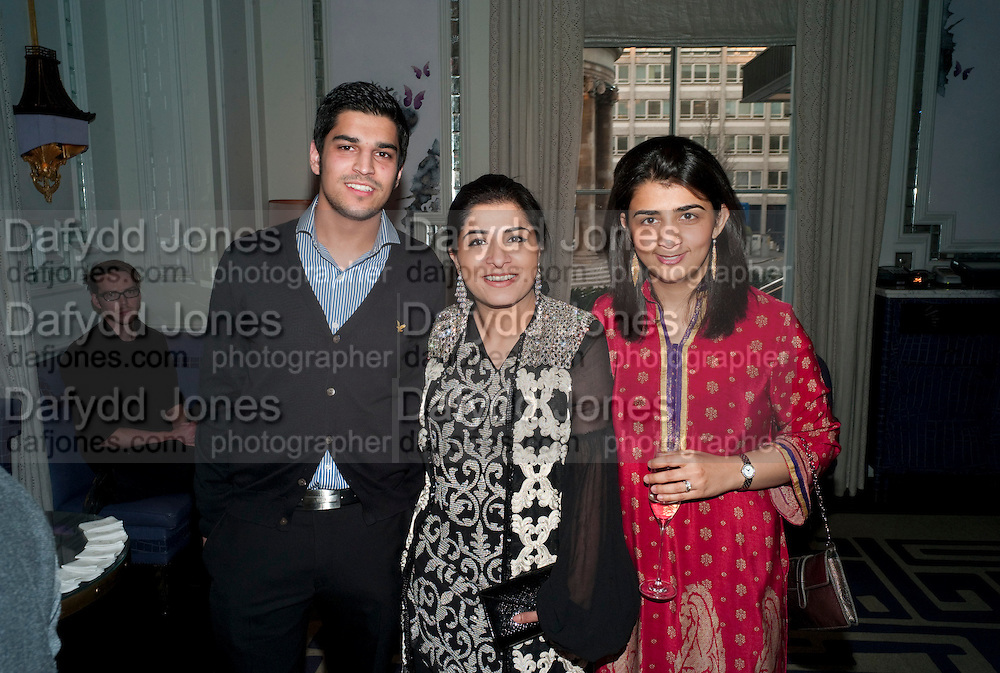 RIYAN DURRANI; SABEEN JATOI; TANIYA KHAN, Henry Porter hosts a launch for Songs of Blood and Sword by Fatima Bhutto. The Artesian at the Langham London. Portland Place. 15 April 2010. *** Local Caption *** -DO NOT ARCHIVE-© Copyright Photograph by Dafydd Jones. 248 Clapham Rd. London SW9 0PZ. Tel 0207 820 0771. www.dafjones.com.<br /> RIYAN DURRANI; SABEEN JATOI; TANIYA KHAN, Henry Porter hosts a launch for Songs of Blood and Sword by Fatima Bhutto. The Artesian at the Langham London. Portland Place. 15 April 2010.