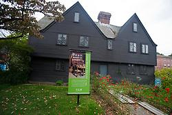 John Ward house, built circa 1684, site of witchcraft trial interrogations, Salem, Massachusetts, United States of America