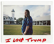 Brunswick, Georgia - Rebecca, 25. &quot;I love Donald Trump, he will save our contry&quot; says Rebecca.<br /> Ph. Roberto Salomone