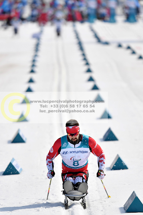 CAMERON Collin CAN LW11.5 competing in the ParaSkiDeFond, Para Nordic Skiing, Sprint at  the PyeongChang2018 Winter Paralympic Games, South Korea.
