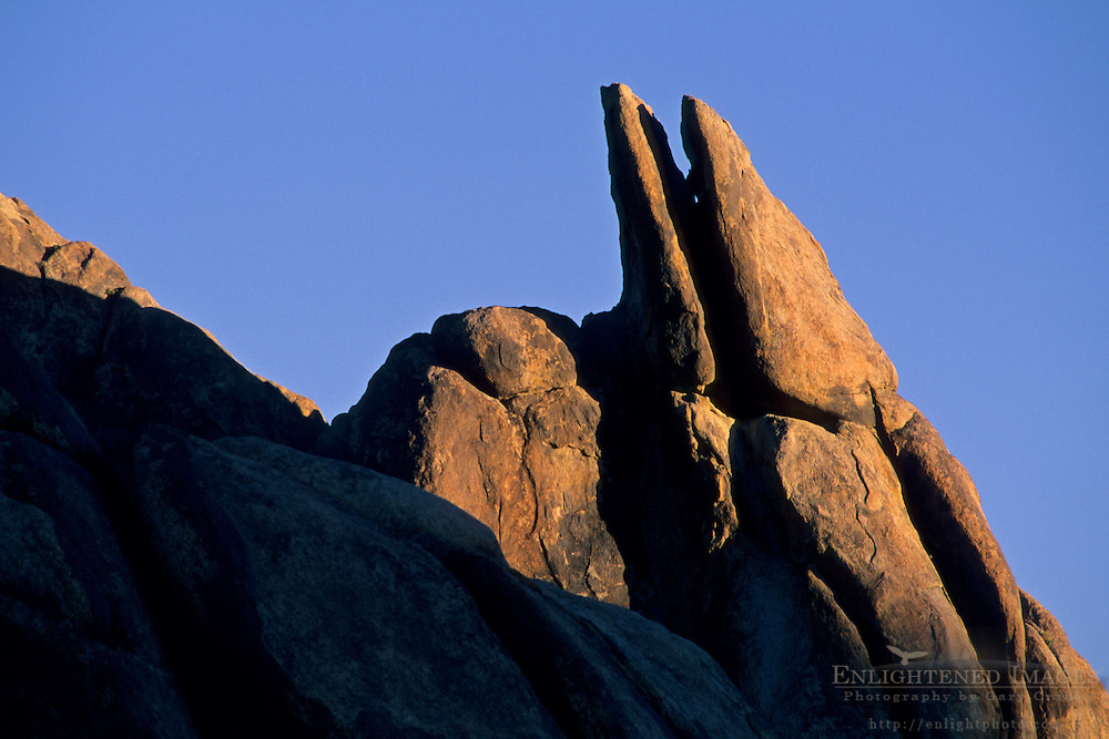 Rocks in the Alabama Hills, near Lone Pine, Eastern Sierra, California