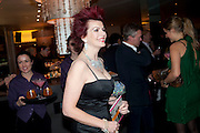 CLEO ROCOS, Launch of Nicky Haslam's book Redeeming Features. Aqua Nueva. 5th floor. 240 Regent St. London W1.  5 November 2009.  *** Local Caption *** -DO NOT ARCHIVE-© Copyright Photograph by Dafydd Jones. 248 Clapham Rd. London SW9 0PZ. Tel 0207 820 0771. www.dafjones.com.<br /> CLEO ROCOS, Launch of Nicky Haslam's book Redeeming Features. Aqua Nueva. 5th floor. 240 Regent St. London W1.  5 November 2009.