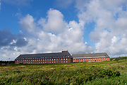 Sylt, Germany. Rantum. Army barracks.