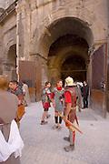 Southern France, Nimes, Roman Arena, Gladiators