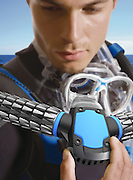 The James Bond gadget that turns you into a FISH: Mask lets you breathe underwater without oxygen tanks<br /> <br /> It's the James Bond gadget on everyone's wishlist.<br /> The rebreather, a system that lets you breathe underwater, has got Mr Bond out of some tricky situations.<br /> Now one South Korean designer Korea has taken inspiration from the spy's device to create a concept gadget that claims to instantly transform the user into a human fish.<br /> <br /> <br /> The mask, dubbed Triton, acts like a fish gill to extract oxygen from water so that the user can keep on breathing while under the sea.<br /> While it may not be as slick as a rebreather, designer Jeabyun Yeon, who came up with the concept, believes it will change the way people approach water.<br /> <br /> <br /> To use Triton, swimmers would bite down on a plastic mouth piece. <br /> Two arms, which branch out to the sides of the scuba mask, can then function as efficient gills to deliver oxygen.<br /> <br /> <br /> The scaly texture on the arms conceal small holes in the material where water is sucked in. <br /> Chambers inside separate the oxygen and release the liquid so that the user can breathe comfortably in the ocean.<br /> Using a very small but powerful micro compressor, the concept system would compress oxygen and store it in tanks.<br /> The entire gadget is powered by micro battery which is around 30 times smaller than a current battery that can quickly charge 1,000 times faster.<br /> But you may have to wait a little longer before placing an order as the product is still at concept stage. <br /> Mr Yeon describes it as 'a future product' that could one day replace complicated scuba equipment.<br /> ©Jeabyun Yeon/Exclusivepix
