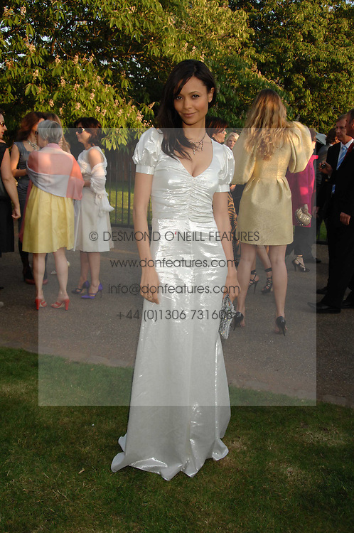Actress THANDIE NEWTON at the annual Serpentine Gallery Summer Party in association with Swarovski held at the gallery, Kensington Gardens, London on 11th July 2007.<br />