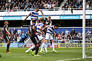 Nottingham Forest midfielder Ben Osborn (11)  comes close early on during the EFL Sky Bet Championship match between Queens Park Rangers and Nottingham Forest at the Loftus Road Stadium, London, England on 29 April 2017. Photo by Andy Walter.