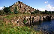 Cawfields crag, Hadrian s wall, Northumberland, England