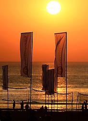 18-07-2014 NED: FIVB Grand Slam Beach Volleybal, Scheveningen<br /> Overview The Hague beach strand zee zon