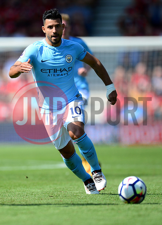 Sergio Aguero of Manchester City - Mandatory by-line: Alex James/JMP - 26/08/2017 - FOOTBALL - Vitality Stadium - Bournemouth, England - Bournemouth v Manchester City - Premier League