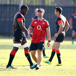 Maro Itoje (Saracens) during the England Rugby training session at Jonsson Kings Park Stadium,Durban.South Africa. 13,06,2018 Photo by (Steve Haag JMP)