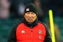 England head coach Eddie Jones - Mandatory by-line: Robbie Stephenson/JMP - 10/02/2018 - RUGBY - Twickenham Stoop - London, England - England v Wales - Women's Six Nations