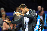 Abandon JERZY JANOWICZ - 08.02.2015 - Tennis - Finale Open Sud de France- Montpellier<br /> Photo : Andre Delon / Icon Sport