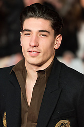 © Licensed to London News Pictures. 28/11/2016. HECTOR BELLERIN attend's the I Am Bolt world film premiere. London, UK. Photo credit: Ray Tang/LNP