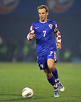 Fussball International, Nationalmannschaft   EURO 2012 Play Off, Qualifikation, Kroatien - Tuerkei       15.11.2011 Ivan Rakitic (Kroatien)
