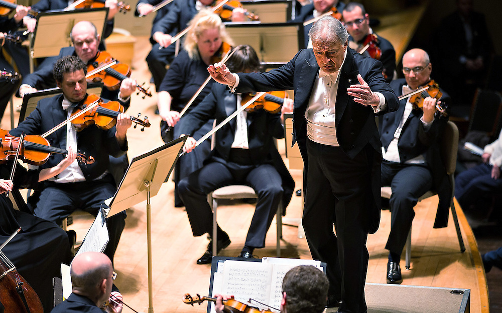 Zubin Mehta and Israel Philharmonic Orchestra, Symphony Hall, Boston