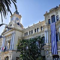 Ayuntamiento de Málaga, Andalucia. España. Malaga Town Hall. Andalusia. Spain