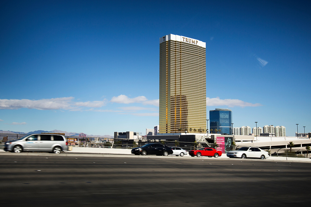The Trump International Hotel in Las Vegas.