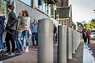 Veiligheidspalen Anne Frank Huis