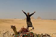Bedouins Gizah pyramides EG710A Les pyramides de Guizeh