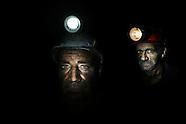 Coalminers in Bulgaria