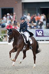Osterholm Yvonne, SWE, Quarton<br /> World Championship Young Dressage Horses <br /> Ermelo 2016<br /> © Hippo Foto - Leanjo De Koster<br /> 29/07/16