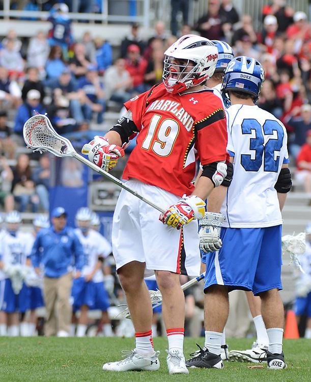 March 5 2011: Maryland's Joe Cummings #19 celebrates goal.