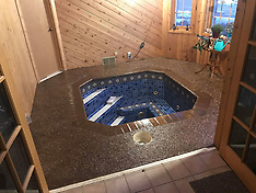 Couple Uncover Stunning Bath Under The Floor Of Their Home Office - 19 April 2020