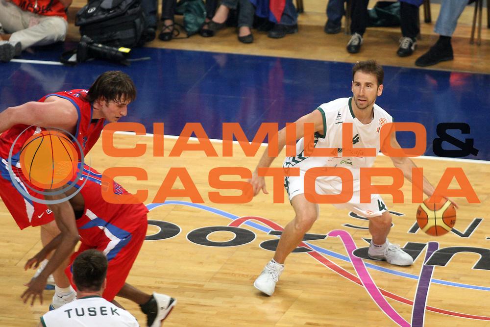 DESCRIZIONE : Atene Athens Eurolega Euroleague 2006-07 Final Four Semifinale Semifinal Unicaja Malaga Cska Mosca<br /> GIOCATORE : Sanchez<br /> SQUADRA : Unicaja Malaga<br /> EVENTO : Eurolega 2006-2007 Final Four Semifinal Semifinale<br /> GARA : Unicaja Malaga Cska Mosca<br /> DATA : 04/05/2007 <br /> CATEGORIA : Palleggio<br /> SPORT : Pallacanestro <br /> AUTORE : Agenzia Ciamillo-Castoria/G.Ciamillo