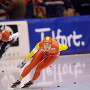 NLD/Heerenveen/20060122 - WK Sprint 2006, 2de 1000 meter dames, Beizing Wang