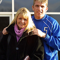St Johnstone captain Jim Weir with his wife Susan who also works at the club<br /><br />Picture by Graeme Hart.<br />Copyright Perthshire Picture Agency<br />Tel: 01738 623350  Mobile: 07990 594431