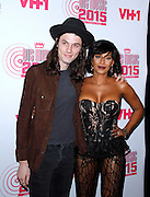 """Mel B and James Bay attend VH1's """"Big Music in 2015: You Oughta Know"""" concert at  The Armory Foundation in New York City, New York on November 12, 2015."""