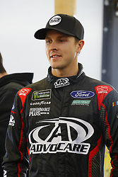 March 2, 2018 - Las Vegas, Nevada, United States of America - March 02, 2018 - Las Vegas, Nevada, USA: Trevor Bayne (6) hangs out in the garage during practice for the Pennzoil 400 at Las Vegas Motor Speedway in Las Vegas, Nevada. (Credit Image: © Chris Owens Asp Inc/ASP via ZUMA Wire)