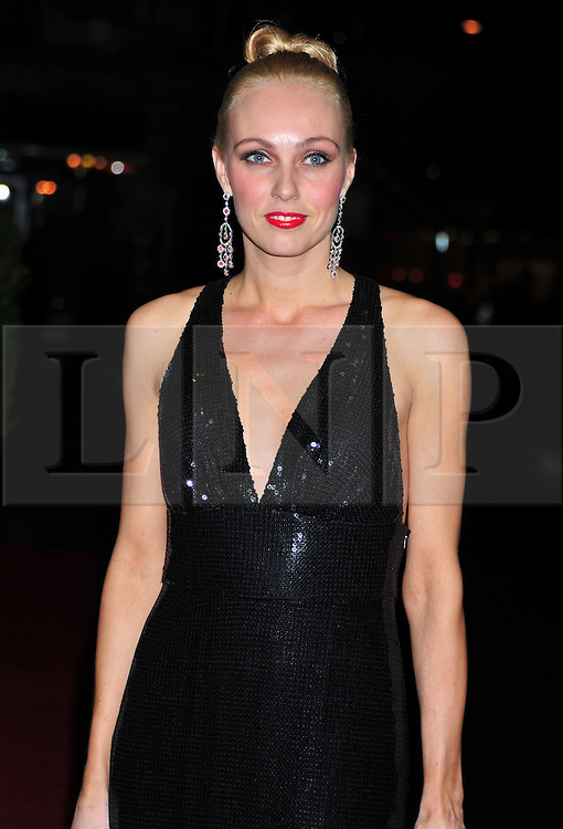 © Licensed to London News Pictures. 18/01/2012. London, England. Camilla Dallerup attends the Daily Mail Inspirational Women awards 2012 at the Marriot Grosvenor Hotel London  Photo credit : ALAN ROXBOROUGH/LNP