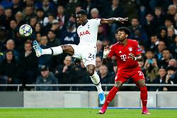 Serge Aurier of Tottenham Hotspur challenges David Alaba of Bayern Munich - Rogan/JMP - 01/10/2019 - FOOTBALL - Tottenham Hotspur Stadium - London, England - Tottenham Hotspur v Bayern Munich - UEFA Champions League Group B.