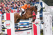 Theo van de Vendel (NED) & Zindane - Jumping - Longines FEI European Eventing Chamionship 2015 - Blair Athol, Scotland - 13 September 2015