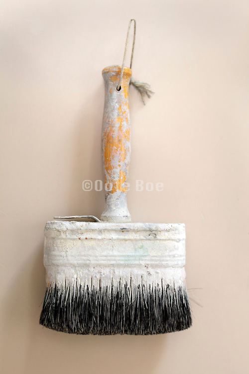 still life of paintbrush
