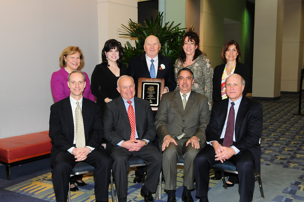 Credit Union National Association award ceremony in Washington DC