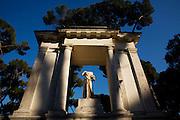 Villa Borghese. Rome, Italy
