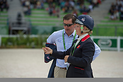 Zara Philips, (GBR), with Peter, Murphy (GBR) walking the course - Eventing Cross Country test- Alltech FEI World Equestrian Games™ 2014 - Normandy, France.<br /> © Hippo Foto Team - Dirk Caremans<br /> 31/08/14
