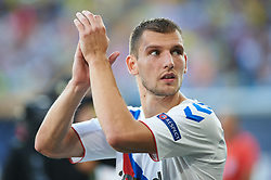September 20, 2018 - Vila-Real, Castellon, Spain - Borna Barisic of Rangers FC during the UEFA Europa League Group G match between Villarreal CF and Rangers FC at La Ceramica Stadium on September 20, 2018 in Vila-real, Spain. (Credit Image: © Maria Jose Segovia/NurPhoto/ZUMA Press)