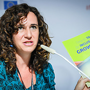 20160615 - Brussels , Belgium - 2016 June 15th - European Development Days - Rosa Maria Cañete, LAC Campaign Coordinator, Oxfam International © European Union