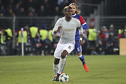 November 22, 2017 - Basel, BS, Schweiz - Basel, 22.11.2017, Fussball Champions League, FC Basel - Manchester United. Paul Pogba (Manchester) (Credit Image: © Giuseppe Esposito/EQ Images via ZUMA Press)