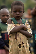 Boy in Kanyabayonga, 150km north of Goma, Eastern Democratic Republic of Congo, on Thursday December 11, 2008..