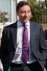 "© London News Pictures.  FILE PHOTO Conservative PPC for Tooting MARK CLARKE out canvassing in Tooting during the 2010 general election in London on April 21, 2010. Clarke, the so-called ""Tatler Tory"" was expelled from the Conservative Party following allegations of aggressive and hostile behaviour towards other members of the conservative party. Photo credit: LNP"