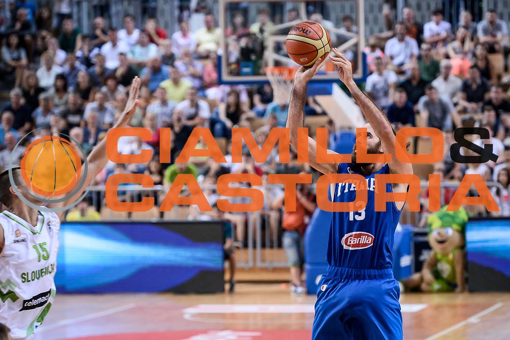 DESCRIZIONE : Capodistria Koper Nazionale Italia Uomini Adecco Cup Italia Italy Slovenia<br /> GIOCATORE : Luigi Datome<br /> CATEGORIA : Tiro Tre Punti <br /> SQUADRA : Italia Italy<br /> EVENTO : Adecco Cup<br /> GARA : Italia Italy Slovenia<br /> DATA : 23/08/2015<br /> SPORT : Pallacanestro<br /> AUTORE : Agenzia Ciamillo-Castoria/M.Ozbot<br /> Galleria : FIP Nazionali 2015<br /> Fotonotizia : Capodistria Koper Nazionale Italia Uomini Adecco Cup Italia Italy Slovenia