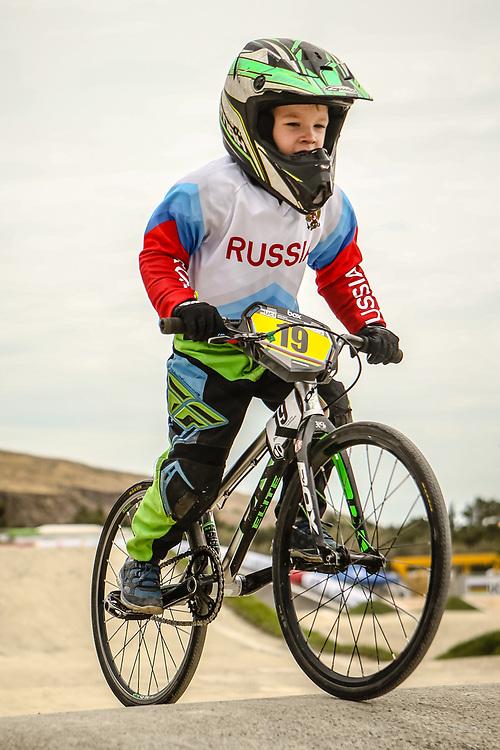 2018 UCI World Championships<br /> Baku, Azerbaijan<br /> 5 &amp; 6 Boys #19 (SUVOROV Maksim) RUS