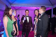 KATE WILLETT; SOPHIE HONON; CAPT JAMES KIRK; LAURA WATSON; GEORGE THOMAS, Quorn Hunt Ball, Stanford Hall. Standford on Soar. 25 January 2014