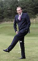 NOORDWIJK - Daan Slooter, organisator van het Dutcht Open Golf